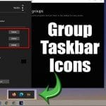 How to Group Taskbar Shortcuts in Windows 10 PC