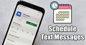 How to Schedule a Text Message with Google Messages