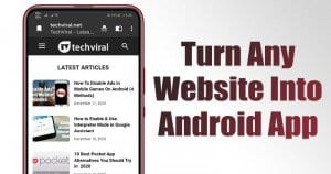 How to Turn any Website into Android App in a Few Seconds