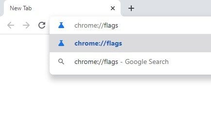 type in Chrome://flags
