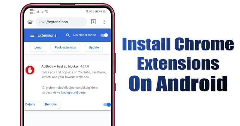 How to Install & Use Desktop Chrome Extensions on Android