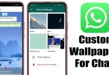 How to Set Custom Wallpaper for Individual Chats on WhatsApp