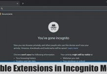 How to Enable Extensions in Google Chrome Incognito Mode