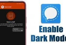 How to Enable Dark Mode in Signal Private Messenger
