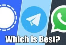 WhatsApp vs Signal vs Telegram: Security & Features