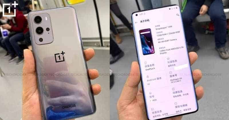 OnePlus 9, 9 Pro specs and images leaked