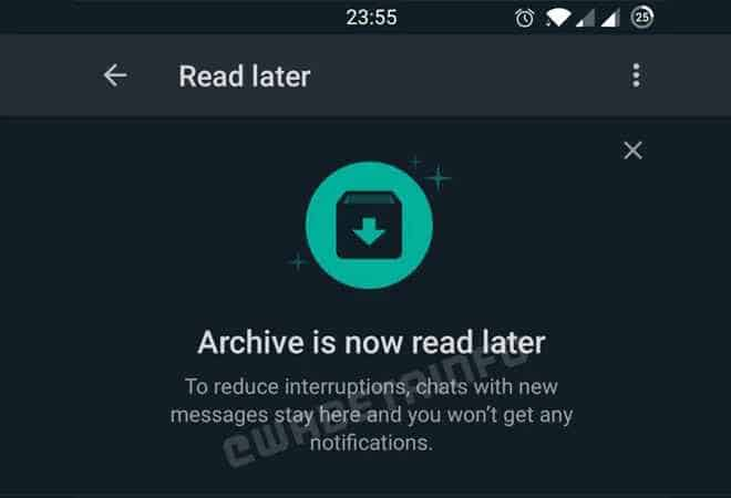 WhatsApp to Bring 'Read Later' Feature: Details Here!