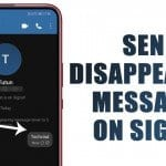 How to Send Disappearing Messages On Signal Private Messenger