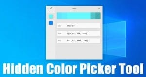 How to Get a System-Wide Color Picker Tool On Windows 10