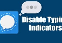 How to Disable Typing Indicators in Signal Private Messenger