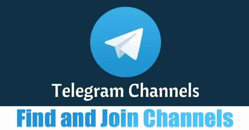 How to Find & Join Telegram Channels On Android