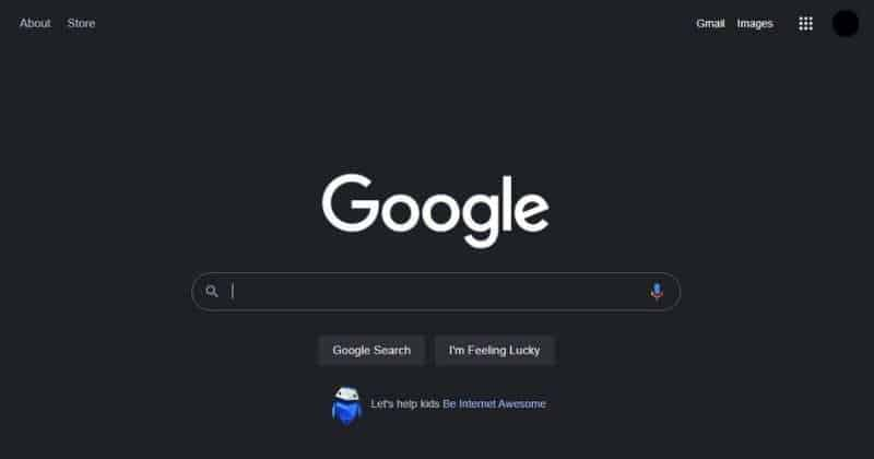 To roll out the Dark Mode feature for Google desktop search engine