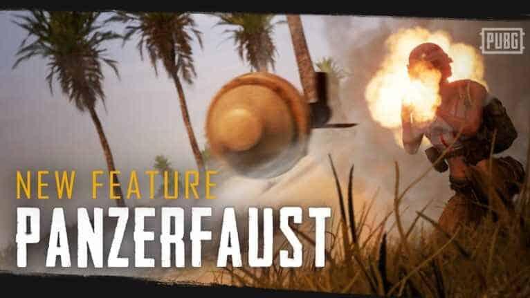 New firearm, Panzerfaust 1.3 beta update