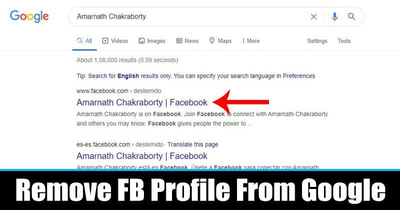 How to Remove Your Facebook Profile from Google & Bing Searches