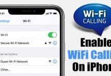 How to Enable WiFi Calling On Your iPhone