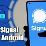 How to Lock Signal App With Pin or Fingerprint On Android