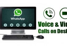 How to Make WhatsApp Voice & Video Calls from PC