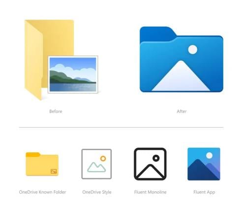 Windows 10 Update to Bring New File Explorer Icons