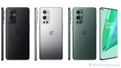OnePlus 9 Series Design & Colour Variants Leaked Ahead of Launch