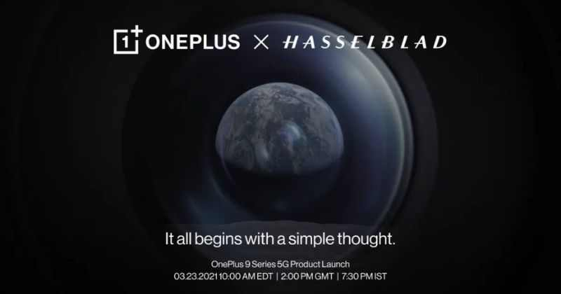OnePlus 9 Series to Launch Globally on 23rd March, First Look Revealed