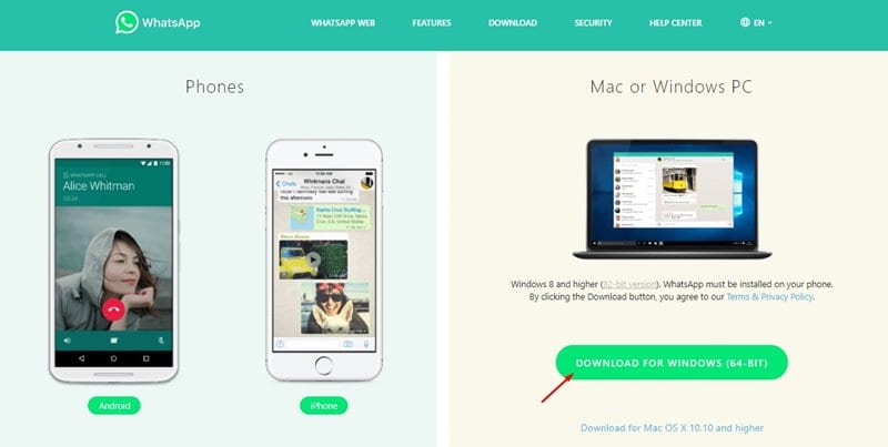 Cara Membuat Panggilan Suara & Video Call WhatsApp di PC