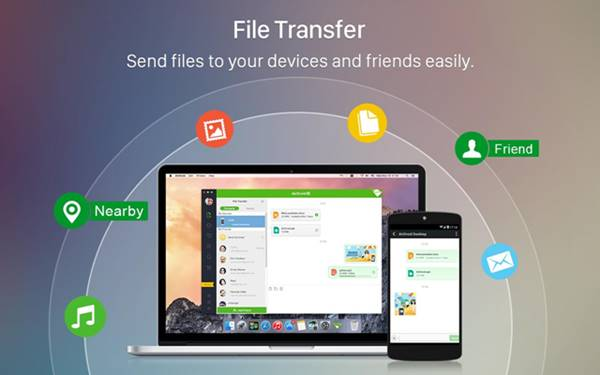 Features of AirDroid