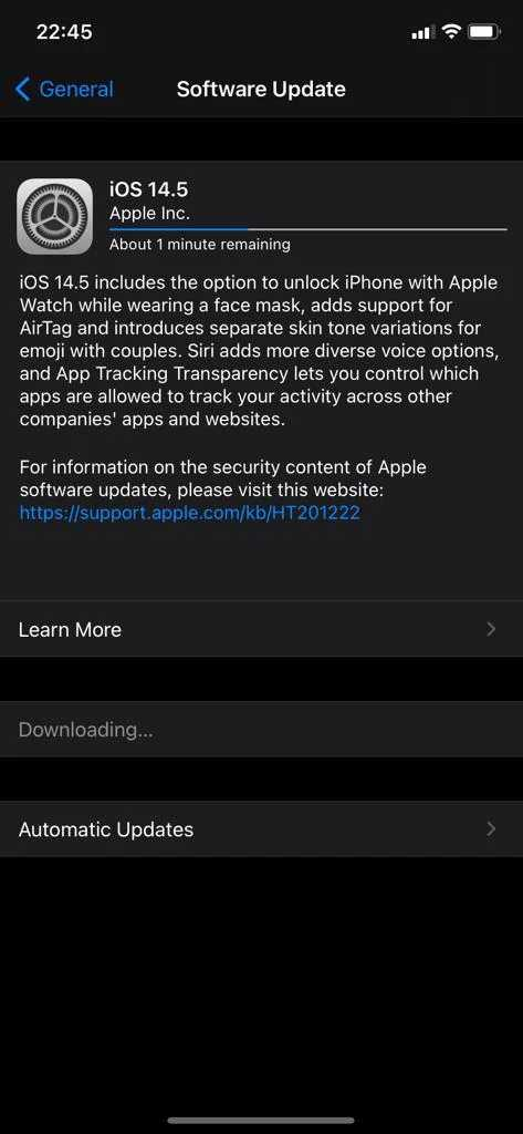 Apple iOS 14.5 Update Released with App Tracking Transparency & More