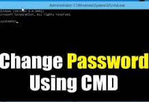 How to Change Windows 10 Password via CMD