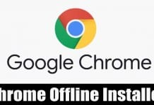 Download Google Chrome Offline Installers [Latest Version]