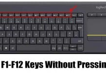 How to Use The Function Key Without Pressing Fn (Windows 10)