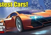 10 Fastest Cars in GTA 5 Online: Supercars with Top Speed!