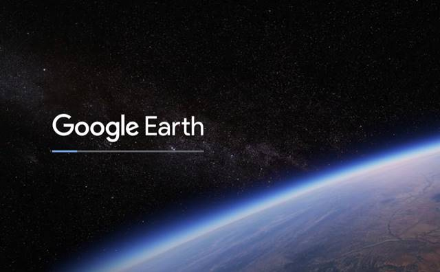 Google Earth loads on your computer