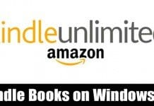 How to Read Amazon Kindle Books On Windows 10