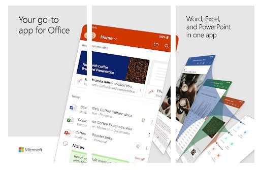 Use Microsoft Office Mobile Apps