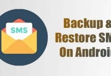 How to Backup & Restore SMS On Android