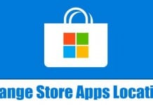 How to Change the Download Location for Microsoft Store Apps