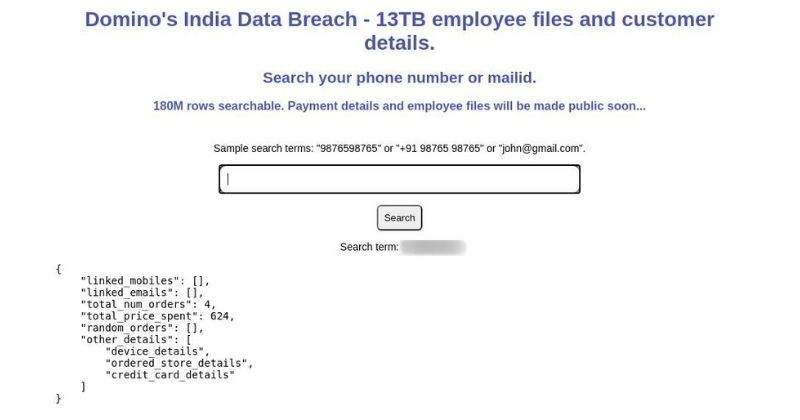 Domino's Data Breach: How to Check & What to do if Your Data is Leaked
