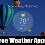 5 Best Free Weather Apps for Windows 10