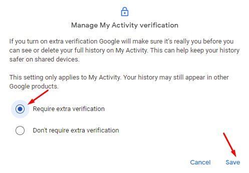 Langkah untuk Melindungi Riwayat Pencarian Google dan Youtube dengan Kata Sandi
