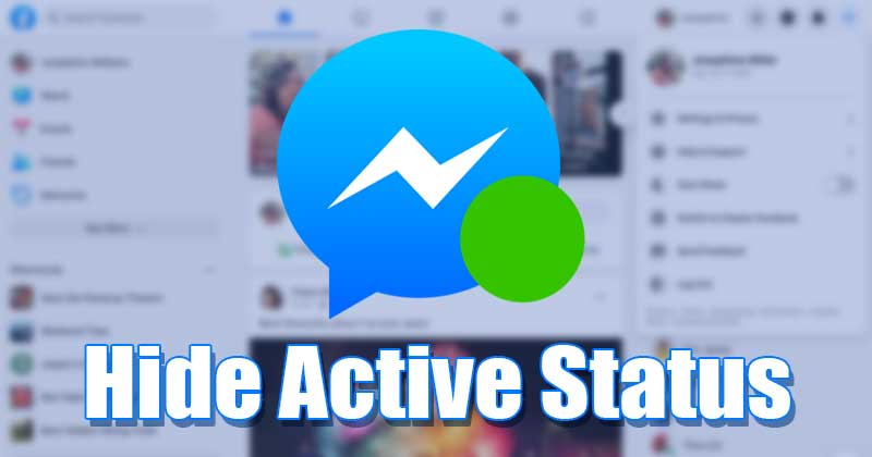 Hide the Active Status On Facebook