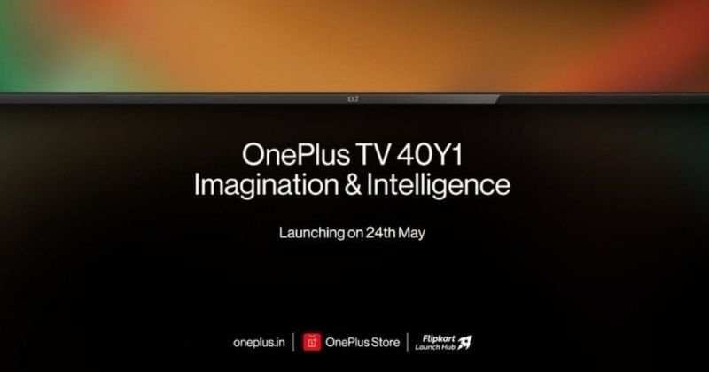 OnePlus TV 40Y1 to Launch in India on 24 May, Specifications Revealed
