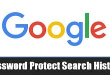 How to Password Protect Google and Youtube Search History