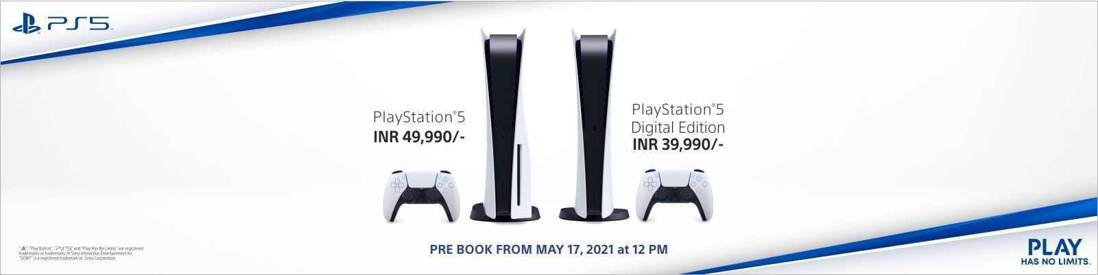 Sony PS5 Restock: Pre-Booking to Start from May 17 on Amazon, Flipkart & Sony Center
