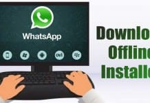 Download WhatsApp for PC Offline Installer