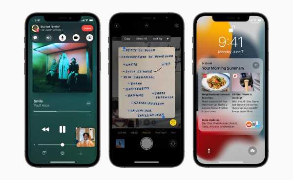 Apple iOS 15 announced