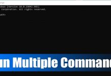 How to Run Multiple Commands in CMD