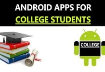 Best Android Apps For College Students
