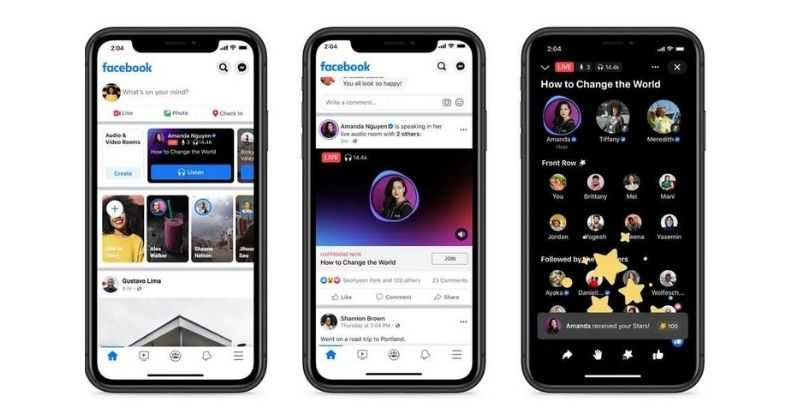 Facebook Live Audio Rooms, Podcasts Launched, Details Here