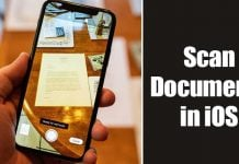 How to Scan Documents with your iPhone