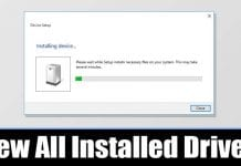 How to View a List of all Installed Drivers in Windows 10